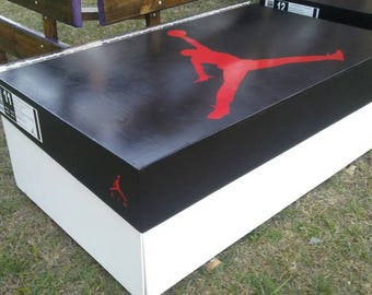 Jordan Wooden shoebox