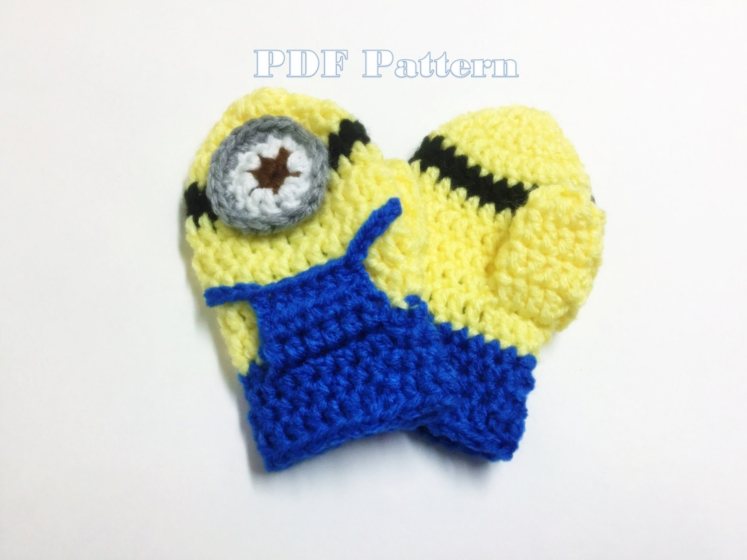 Minion mittens crochet pattern baby toddler crochet pattern from minion mittens crochet pattern baby toddler crochet pattern sold by jaykayscrochet this is a digital file bankloansurffo Choice Image