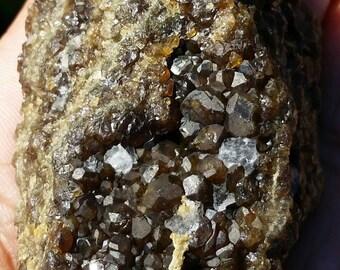 Beautiful 111 Gram Garnet Cluster