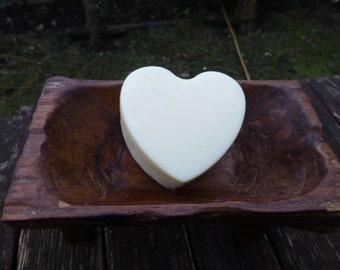 75g Handmade Heart Shape Lotion (Body) Bar, vegan