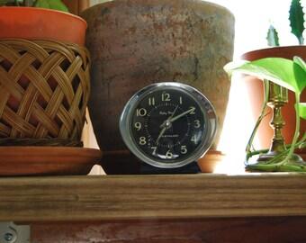 Vintage Baby Ben Westclox Wind Up Alarm Bedside Clock