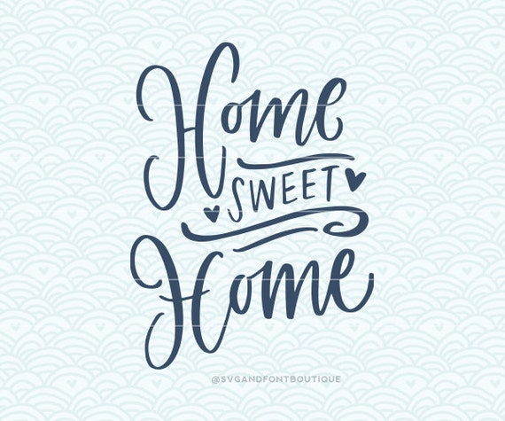 Free Software For You Free Download Sweet Home 3d: SVG Cuttable Vector Home Sweet Home SVG Vector File