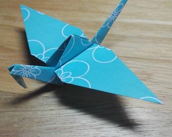 20 Origami Crane Wedding Favors / Baby Boy B2/7
