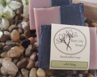 Wild Thing Soap, Handcrafted Soap, Bar Soap, Men's Soap, Vegan Soap