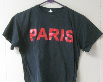 SUPER COOL PARIS cropped Tshirt