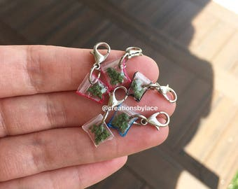 XTRA Tiny Weed Baggie Charms (FAKE)