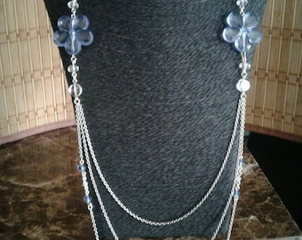 Type matinee necklace