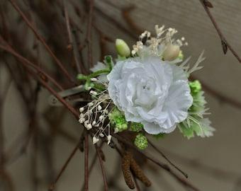 Flower hair clip, pin