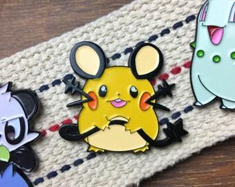 Pokemon Enamel Pin - Cute Dedenne Enamel Pin