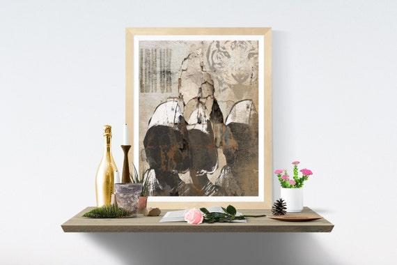 Tiger, Printable Art, Print, Wall Art, Wall Prints, Art Print, Art Prints, Digital, Digital Paper, Printables, Modern Art, Print Wall Art