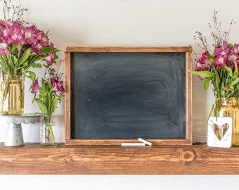 Rustic Framed Chalkboard Farmhouse Chalkboard