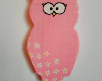 Beautiful Owl Fridge Magnet