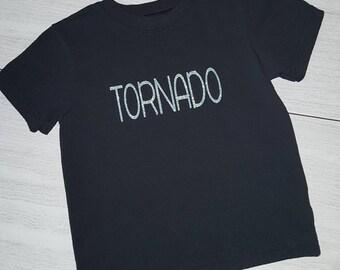 """Girls 3T Glitter """"TORNADO"""" shirt"""