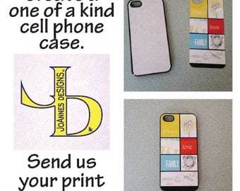 Personalized Cell Phone Case * Custom Case * Photo Case * iPhone 5 *