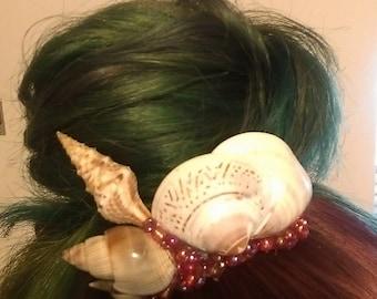 Seashell Bun Pin