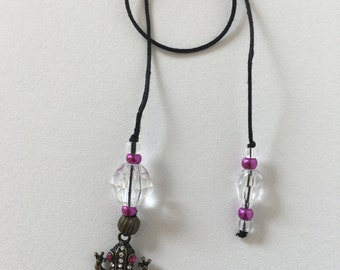 String Beaded Bookmarker w/Frog that will leap out of your book and keep your places marked.  Handmade Could be a thoughtful gift to anyone.