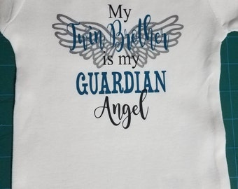 My Twin Brother or Sister is my Guardian Angel Onsie