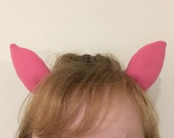 Piglet Clip On Ears