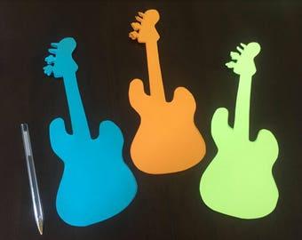 Rockstar Guitar Cutouts
