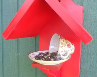Tea Time Bird Feeder