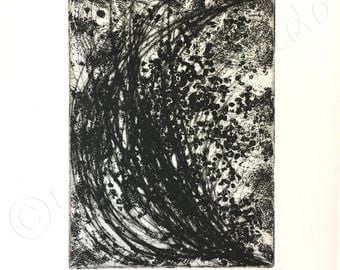 EMERGING engraving, ENGRAVING, aquatint and drypoint, INTAGLIO