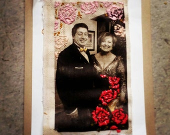 Personalised Photography Transfers with Embroidery Embellishing