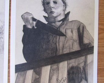 Michael Myers 1978 Art Print