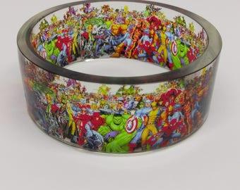 Marvel Characters Bangle