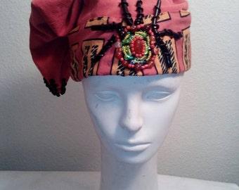 Melon Corduroy Wizard Hat