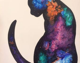 Cosmic Cat Paintings