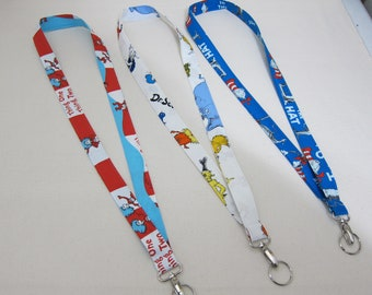 Lanyards featuring Dr. Seuss (Your Choice)