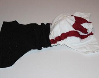 Ring-Bearer Photo Diaper / Birthday Cloth Diaper Cover / Diaper and Bowtie / Hypoallergenic / Special Occasion Diaper / Tuxedo Diaper Cover