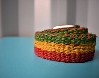 Rasta Hemp Belt