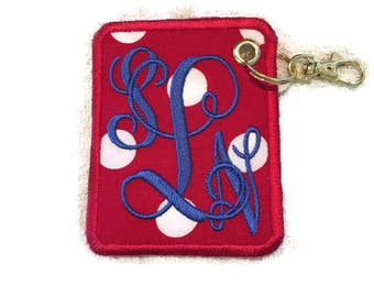 Personalized Embroidery Luggage tag