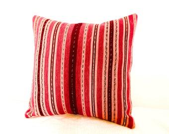 Bohemian Stripes Throw Pillow