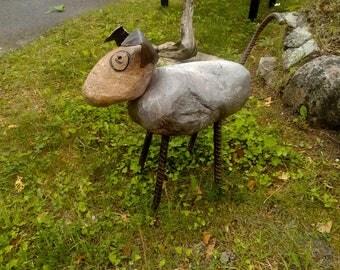 Otay Butwheat! 'PutzPetz' garden sculpture