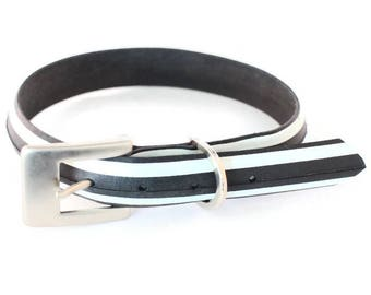 Vegan/Cruelty-Free/Leather-Free Upcycled Tyre/Tire Dog Collar