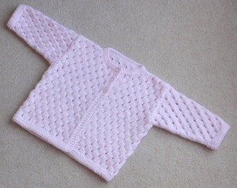 Pretty Lacy Baby Cardigan.