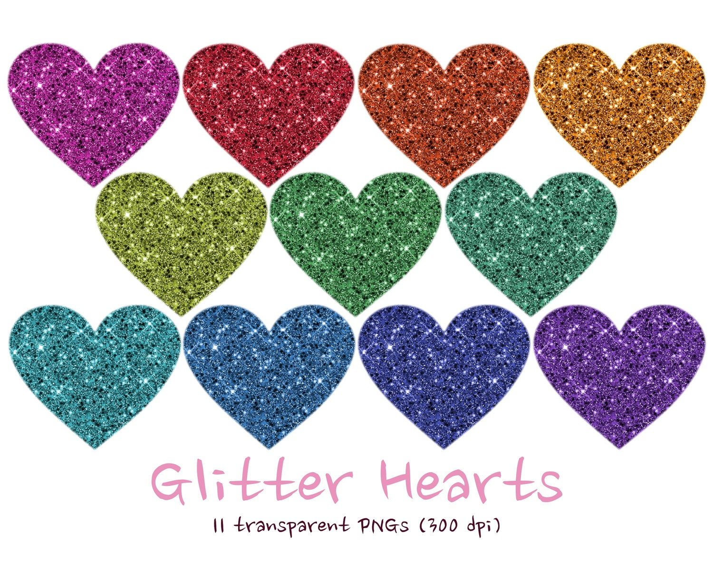 Glitter Heart Royalty Free Stock Photo - Image: 30465975
