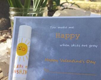 Lip Balm Valentine