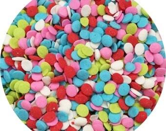 Confetti Red, Pink, Blue Sprinkles, Cupcake Sprinkles