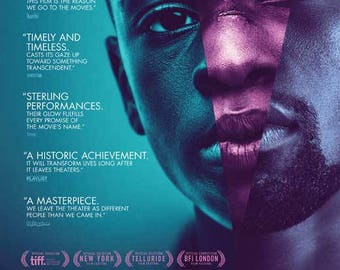 Moonlight, 11 x 17 Movie Poster - Style A