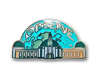 Griffith Observatory Pin
