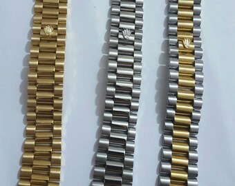 20mm Rolex stainless steel  replacement President bracelet for a Rolex date just 116233 watches