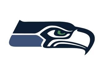 Seattle Seahawks SVG digital logo EPs DXF PnG