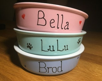 Personalised Small Dog Bowl