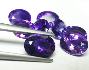 8.10ct eight pieces natural Amethyst