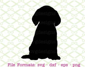 Puppy SVG, Dxf, Eps & Png.  Dog Svg, Puppy Silhouette Svg, Dog Silhouette, Puppy dog Svg Files,  Digital Cut Files for Cricut, Silhouette;
