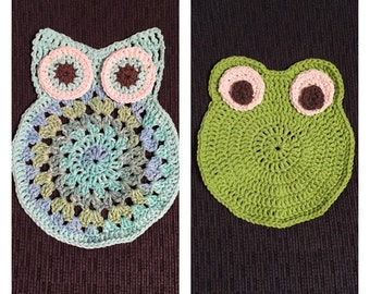 Animal Cloths - Set of 2