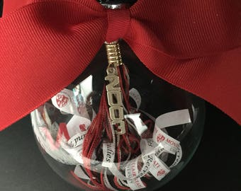 Graduation tassle ornament